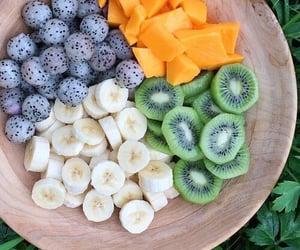 banana, yummy, and food image