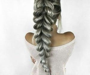 beautiful, style, and braid image