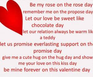 valentine week list, valentine week quotes, and valentine week list 2022 image