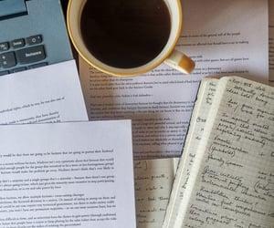academia, book, and coffee image