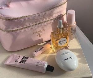 chanel, pink, and Prada image