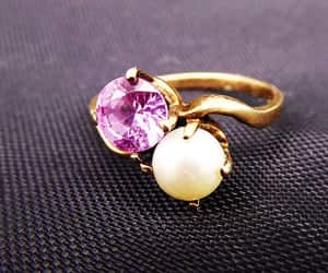 etsy, birthstones, and sapphire ring image