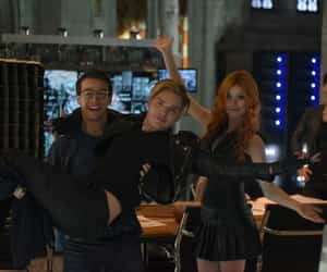 simon, jace herondale, and clary fray image