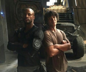 sci-fi, ricky whittle, and the 100 image