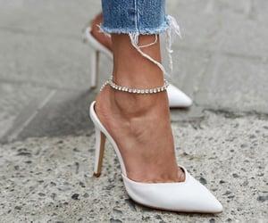 beauty, white, and fashion image