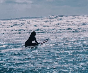 blue, surfboard, and roxy image