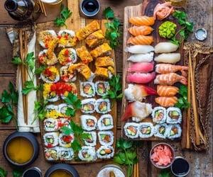 avocado, fish, and food image