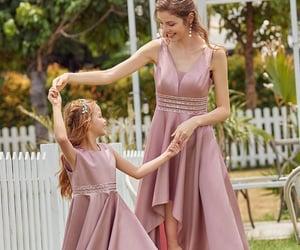 bridesmaid dresses, girl fashion dress, and flower girl dresses image