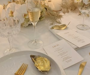 dior, food, and gold image