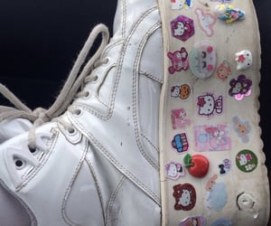 shoe, white, and white shoes image