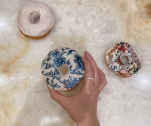 aesthetic, art, and donuts image