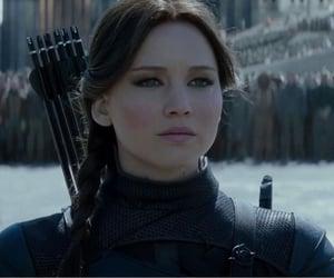 Jennifer Lawrence, mockingjay, and katniss everdeen image