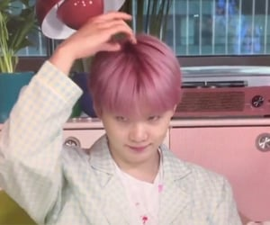 archive, min yoongi, and baby pink image