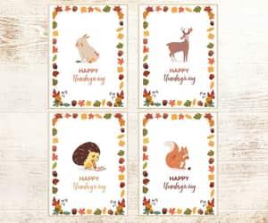 etsy, turkey card, and appreciation card image