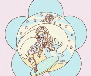 celestial, surf, and surfboard image