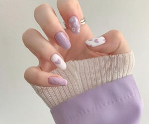 nails, beauty, and hands image
