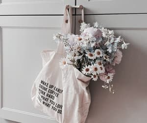 flowers, aesthetic, and girl image