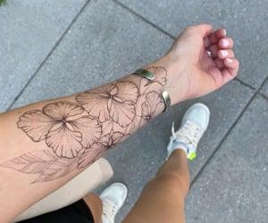 elegant, street style, and tattoo inspo image