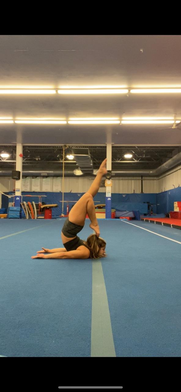 back, fit, and gymnastics image