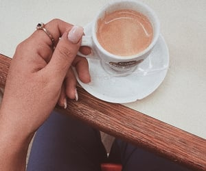 aesthetic, cappuccino, and morning image