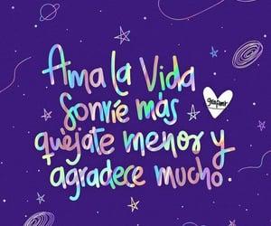 feliz, gracias, and frases español image