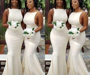 wedding party dresses, 2022 bridesmaid dress, and mermaid bridesmaid dress image