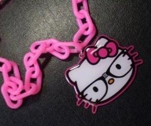 hello kitty, hot pink, and sanrio image