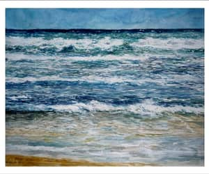 arte, pintura, and paisajes image