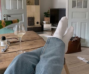 apartment, cozy, and drink image