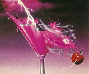 80's, retro, and pink image
