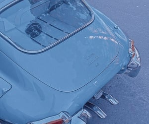 aesthetic, blue, and car image