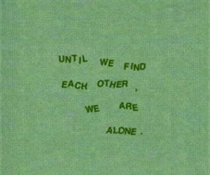 alone, find, and mots image