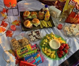 picnic, food, and fruit image