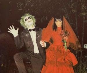the weeknd, bella hadid, and Halloween image