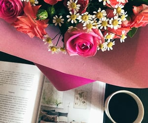 coffee, home, and rose image