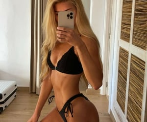 abs, bikini, and skinny image