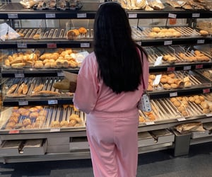 aesthetic, baguette, and bakery image