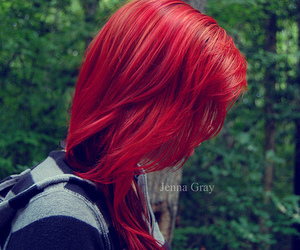 red hair and jenna gray image