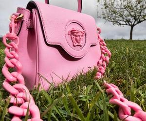 bag, luxury, and pink image