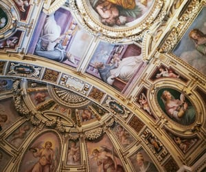 aesthetic, Devil, and frescoes image