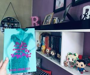 bedroom, book, and geek image