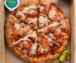 bread, meat, and pizza image