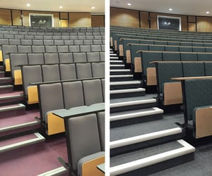 lecture seating and lecture theatre seating image