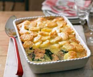 fish, recipe, and salmon image