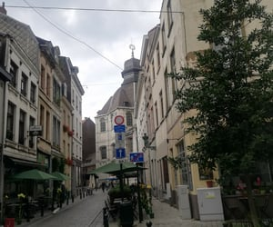 <3, brussels, and cafe image