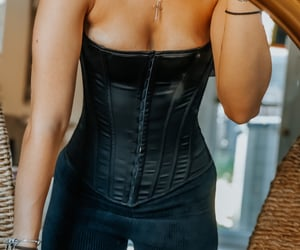 corset, retro, and vintage image