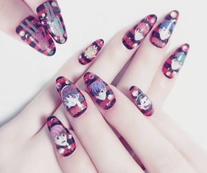 asthetic nail designs and asthetic nail paints image