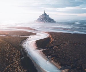 france, holiday, and Mont Saint Michel image