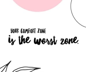 comfort zone, confidence, and inspiration image