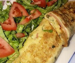 egg, yummy, and salade image